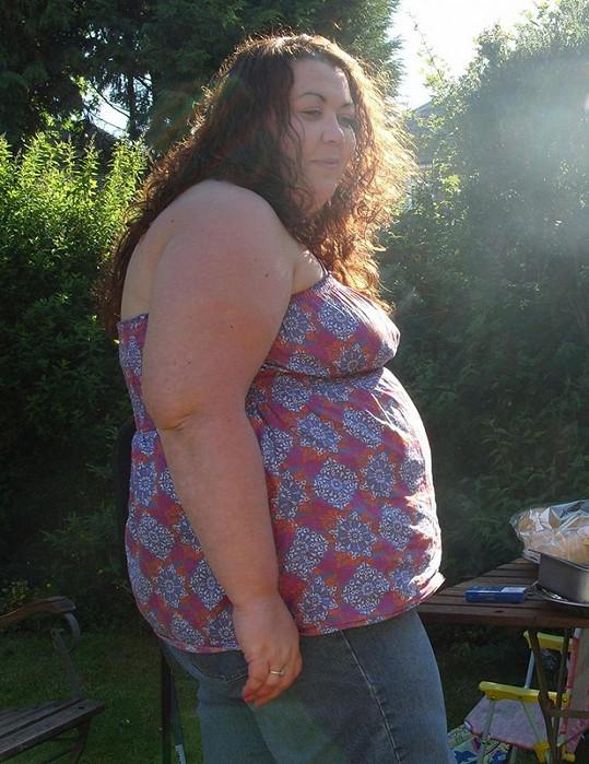 Jo Sleet váha ohrožovala na životě.