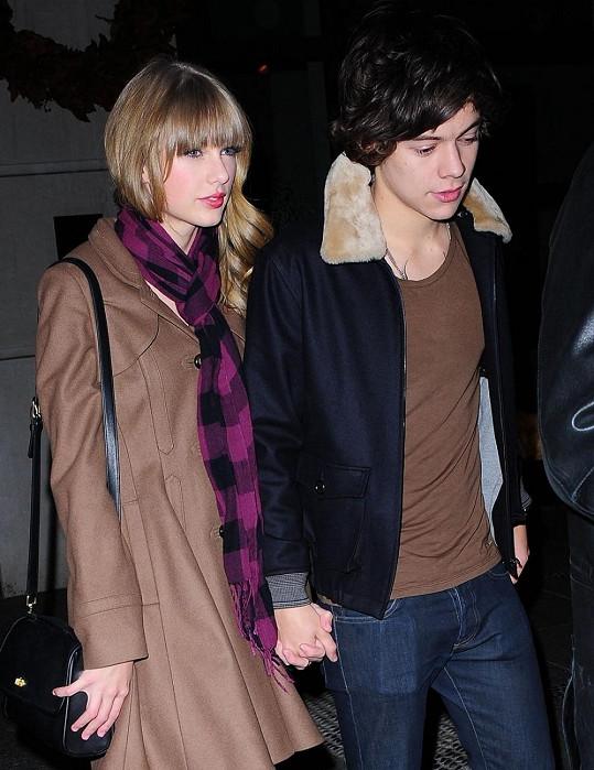 Taylor Swift a Harry Styles spolu dlouho nevydrželi.