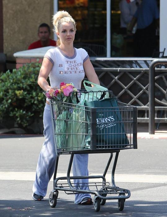 Britney Spears je v soukromí dost nenápadná.