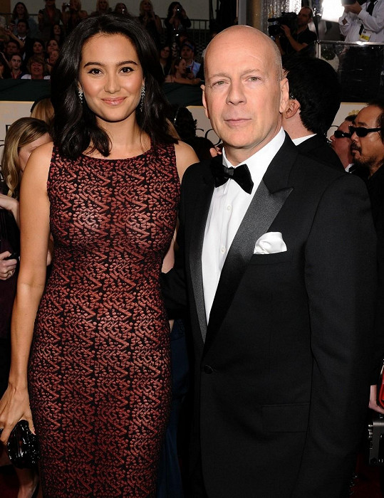 Bruce Willis a Emma Heming. Rozdíl 23 let.
