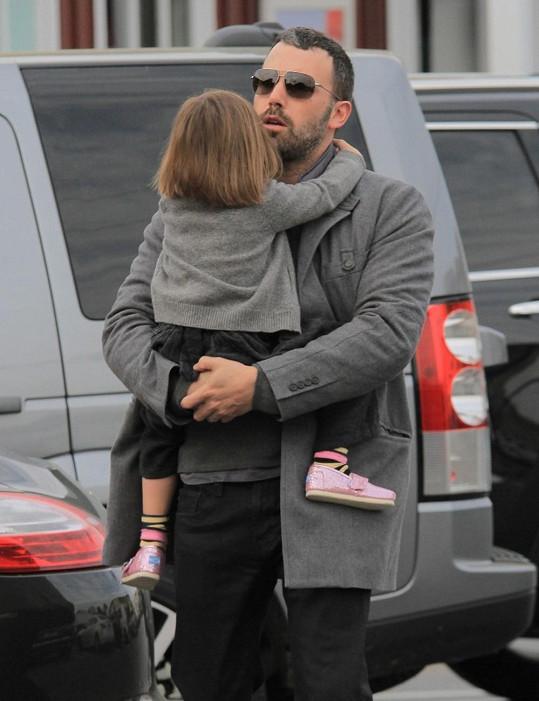 Ben Affleck s dcerou Seraphinou.
