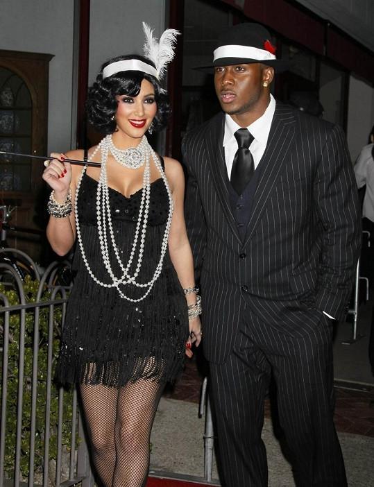 Kim a Reggie v době, kdy spolu chodili.