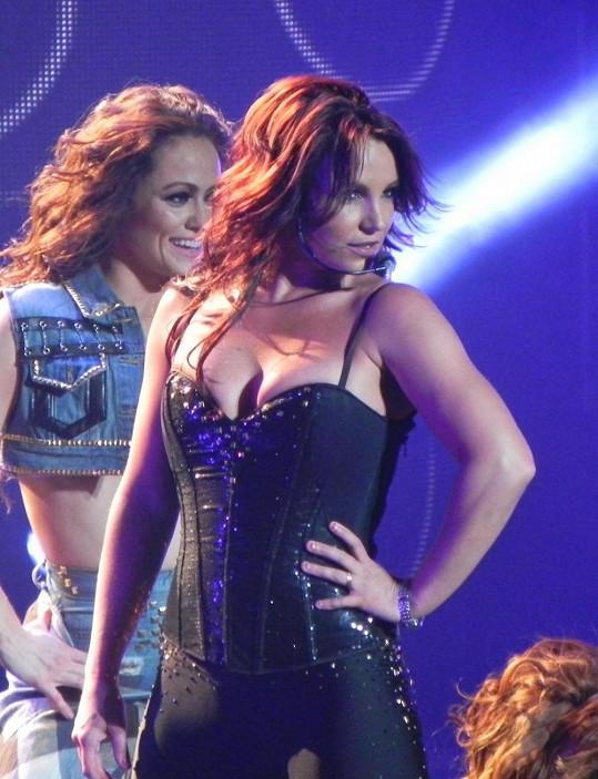 Britney během svého posledního koncertu v Las Vegas