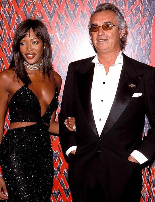 S Naomi na snímku z roku 1999