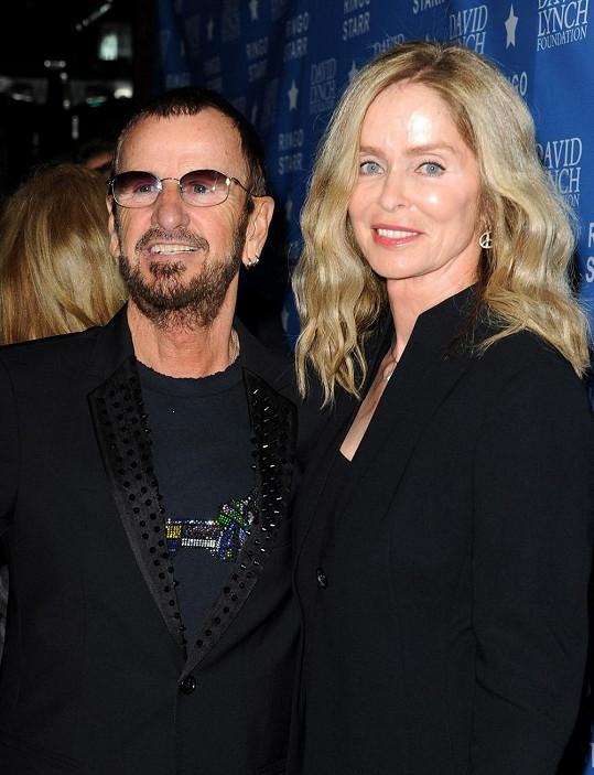 Barbara Bach s manželem Ringem Starem