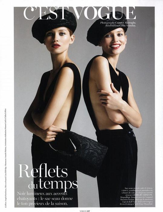 Hana ve francouzské Vogue