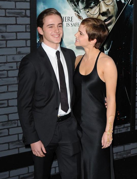 Emma Watson s bratrem Alexem