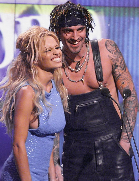 Pamela Anderson a Tommy Lee jako manželé