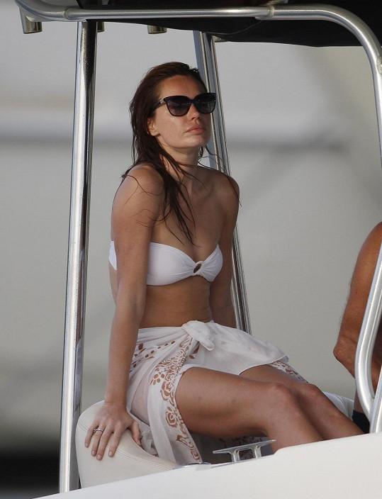 Ani toto není opravdová Angelina...