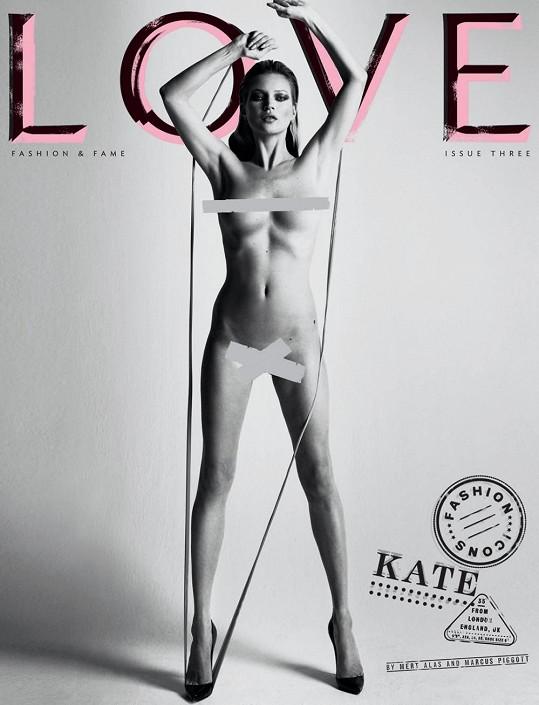 Britka na obálce magazínu LOVE.