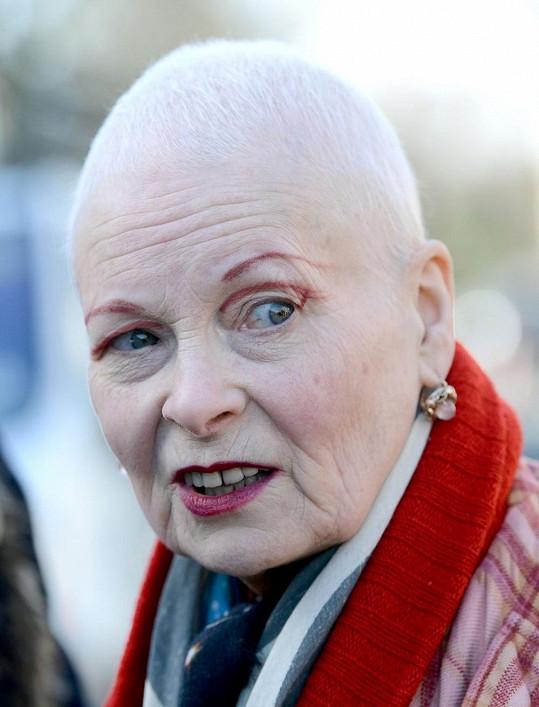 Vivienne Westwood přešla na radikální změnu.