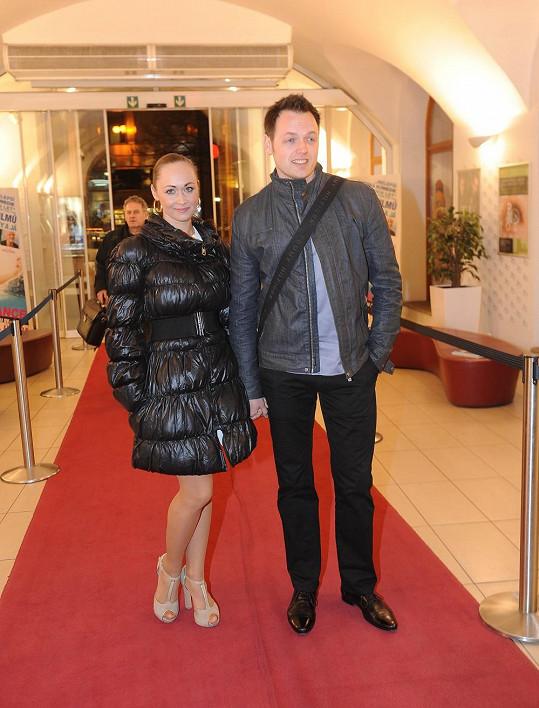 Jan Kříž s přítelkyní Marií Blahynkovou