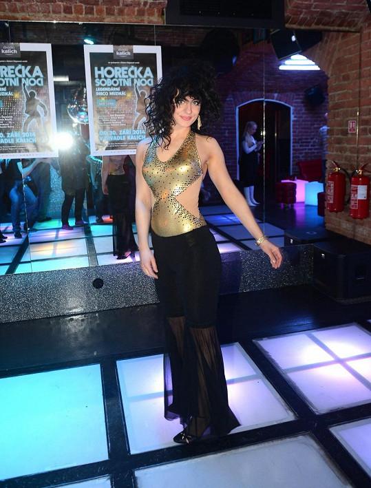 Markéta Procházková ve velmi sexy kostýmu.
