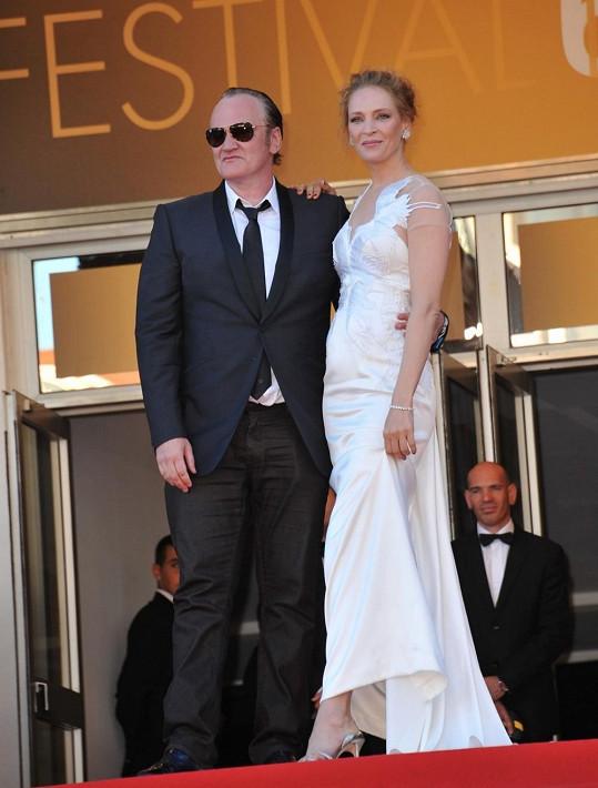 Dvojice na letošním filmovém festivalu v Cannes