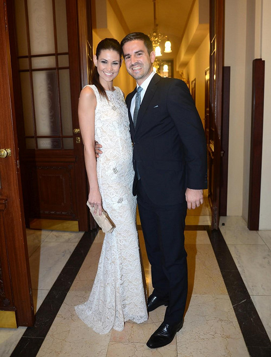 Lucie s přítelem Pavlem Čálkem
