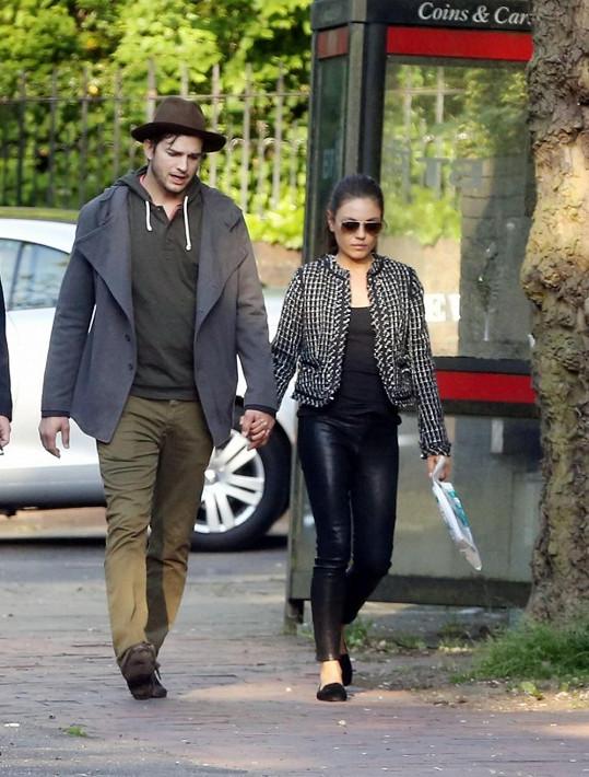 Mila Kunis s Ashtonem Kutcherem