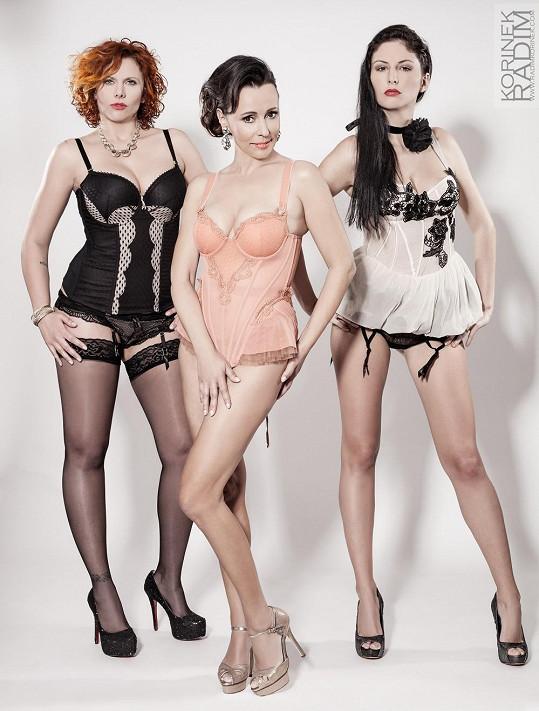 Moderátorky erotického pořadu šly do spodního prádla.