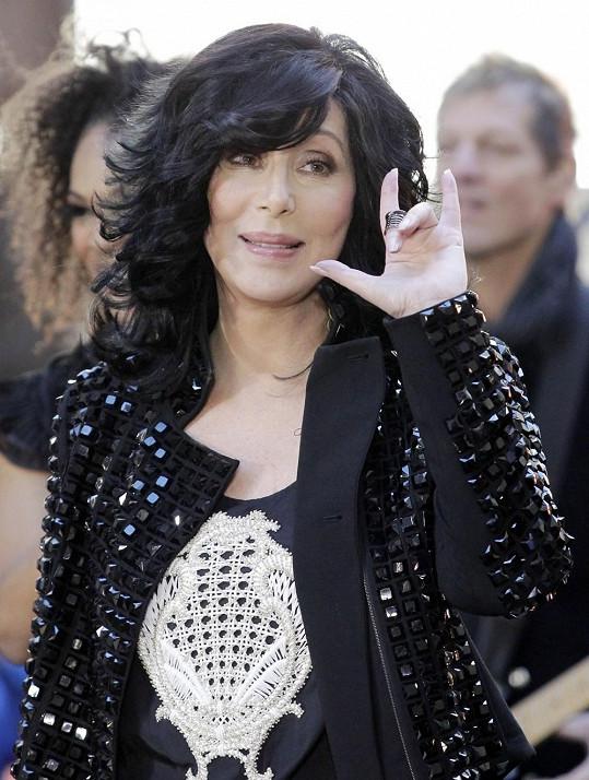 Cher dnes vypadá senzačně.