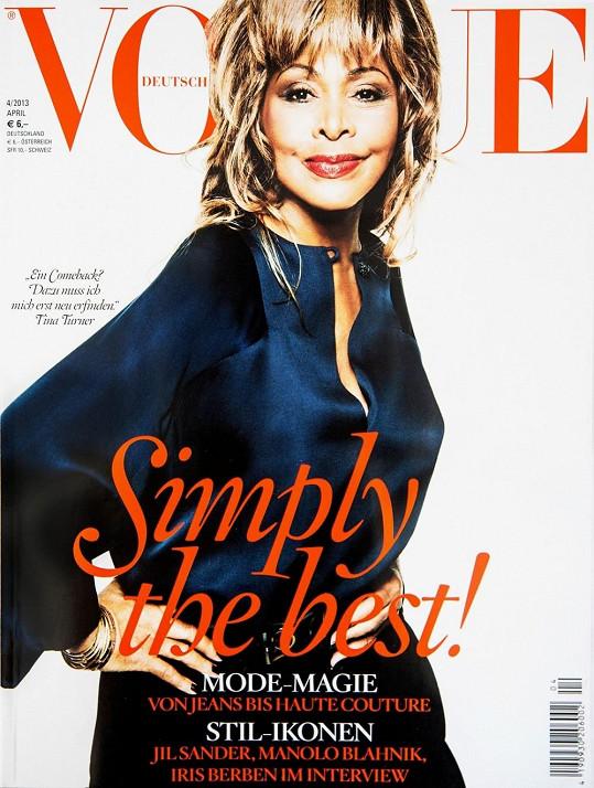 Tina Turner je pořád kočka.