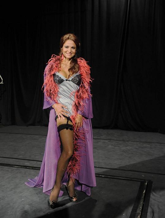 Yvetta jako Mata Hari