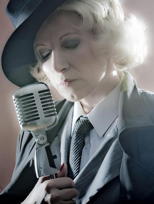Jako Marlene Dietrich