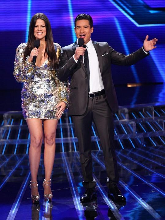 Lopez s Khloé Kardashian moderovali poslední řadu X Factoru v USA.