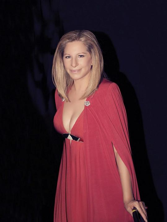 Barbra Streisand rozhodně nevypadá na svůj věk.