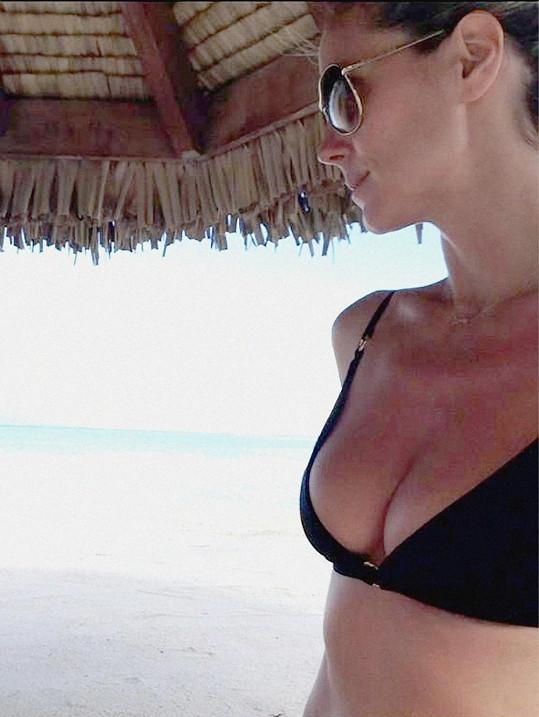 Heidi Klum ví, že má být na co pyšná.