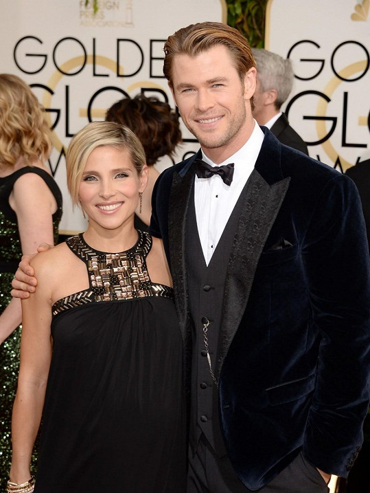 Elsa Pataky a Chris Hemsworth