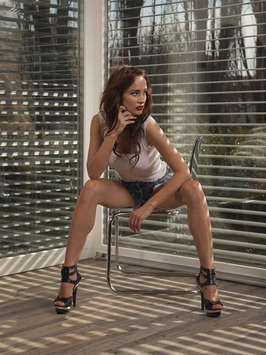 Karolína se pro Playboy nesvlékla úplně.