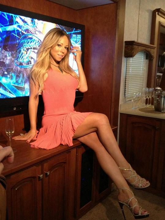 Mariah Carey v poslední době vypadá čím dál lépe.