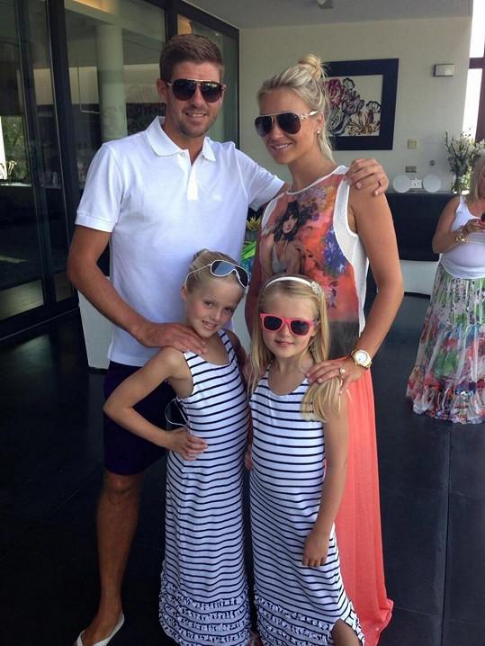 Steven s Alex a jejich dcerami Lilly-Ellou a Lexie