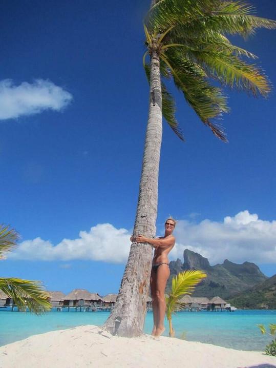 Heidi Klum se do své dovolenkové destinace zamilovala.