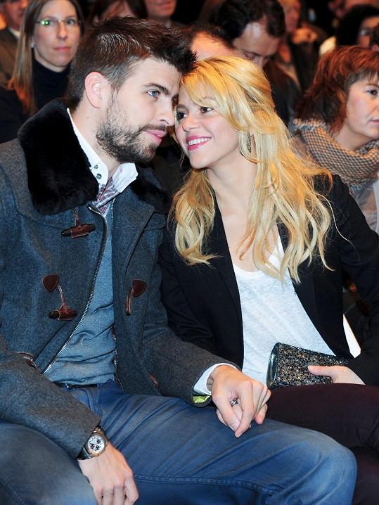 Shakira a Gerard Pigué.
