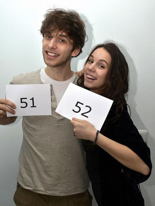 Konkurzu se účastnil i její přítel Roman Tomeš.