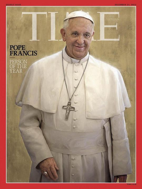 Papež František zažívá úspěšný rok. Časopis Time jej nedávno vyhlásil Osobností roku.