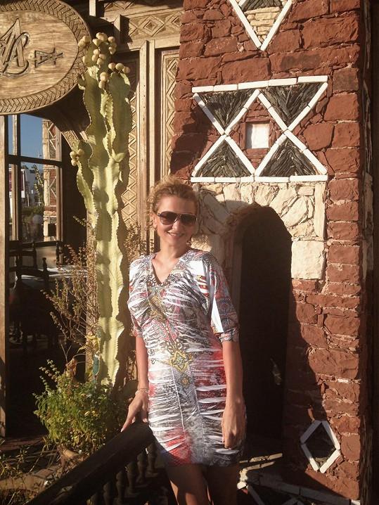 V Maroku si Yvetta dobila baterky a vrátila se do jara.