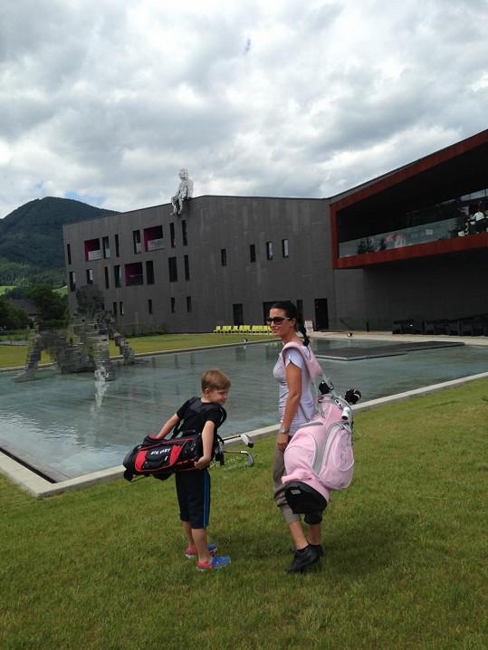 Kristian má už i svůj první bag