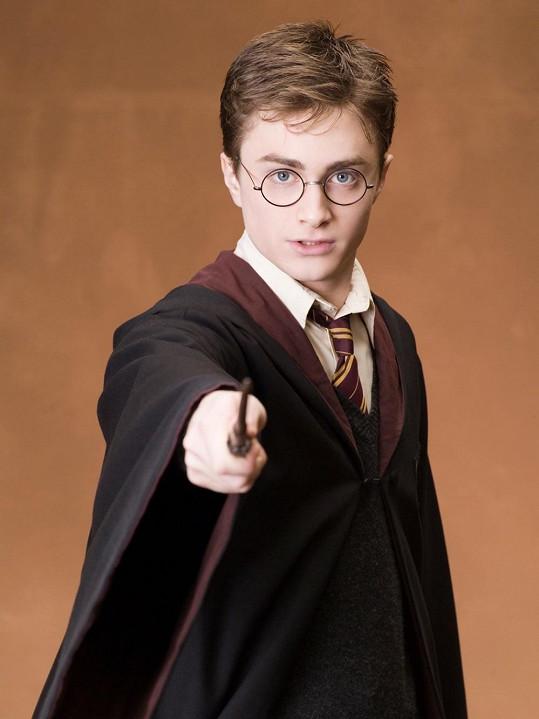Daniel Radcliffe jako Harry Potter.