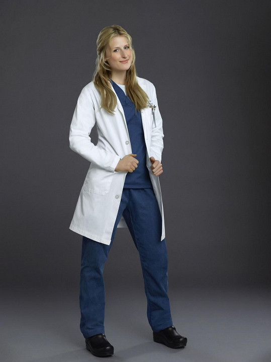 Mamie Gummer v seriálu Doktorka Emily