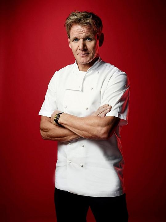Gordon Ramsay, jak ho známe z televize.