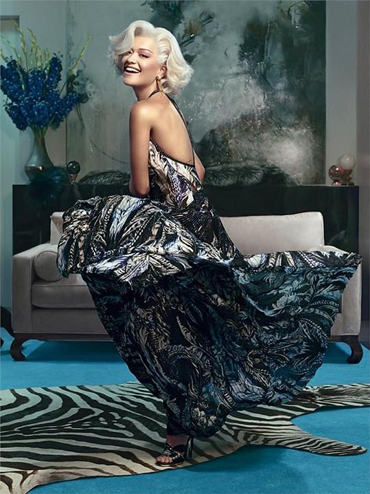 Rita není jen zpěvačka, ale také modelka a herečka.