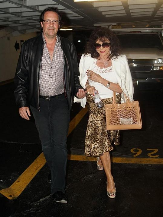 Joan s manželem Percym Gibsonem
