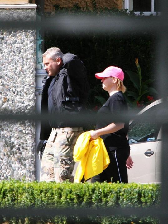 Ivetu v léčebně navštívil Roman Hanke.