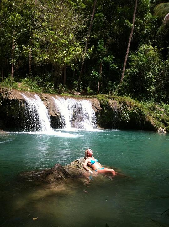 Není divu, že se Markéta díky nádherné přírodě cítila jako v ráji.