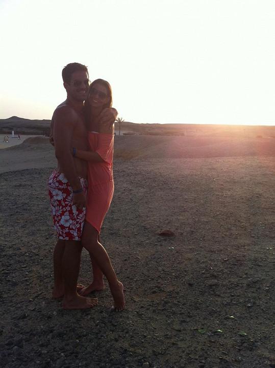 Lucie a Pavel hned na začátku vztahu vyjeli na dovolenou do Egypta.