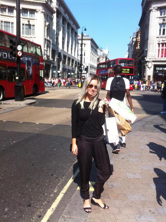 Nákupy na Oxford Street
