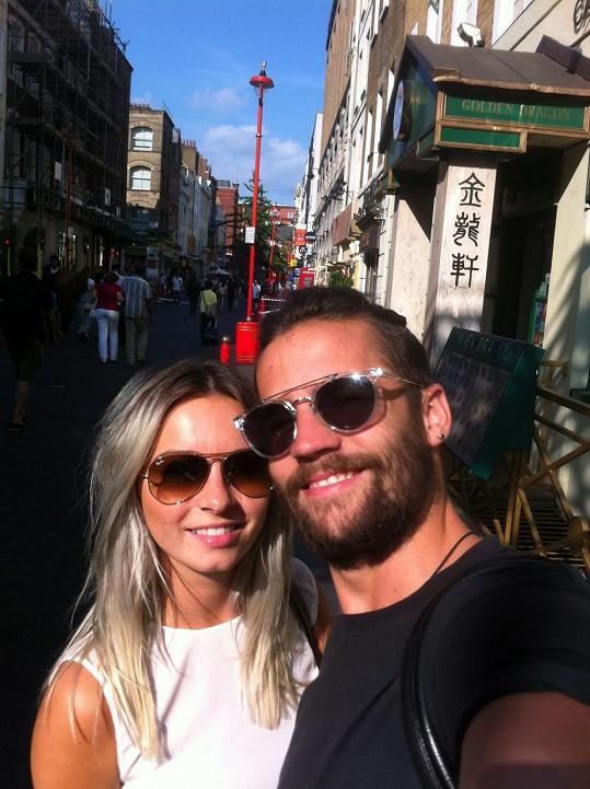 Markéta si užívala letní Londýn se svým přítelem, designérem Janem Plecháčem.