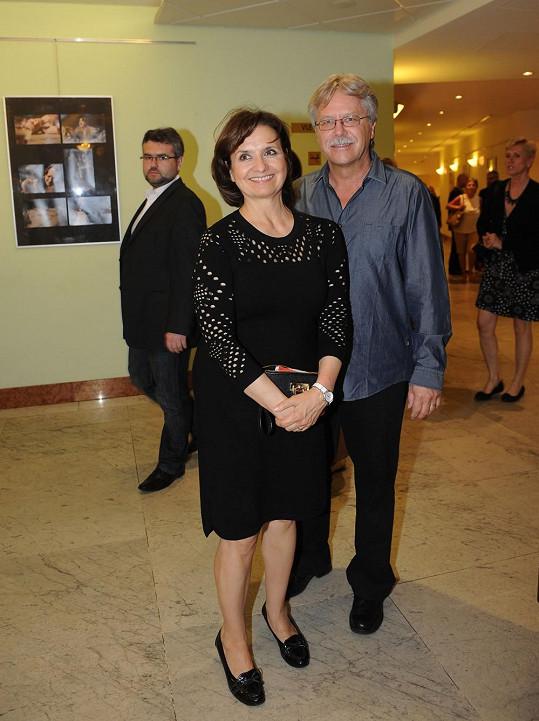 Veronika Freimanová s manželem Vladimírem Boučkem