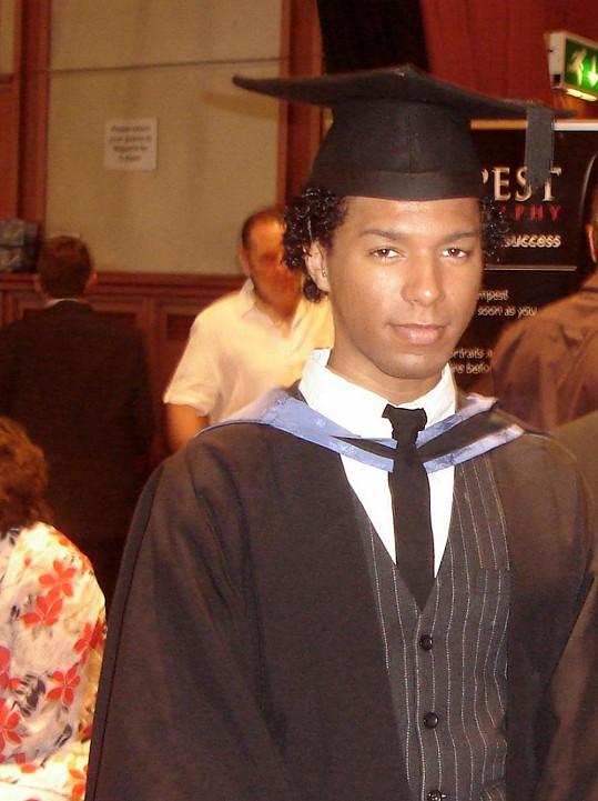 Bergdorf jako absolvent univerzity